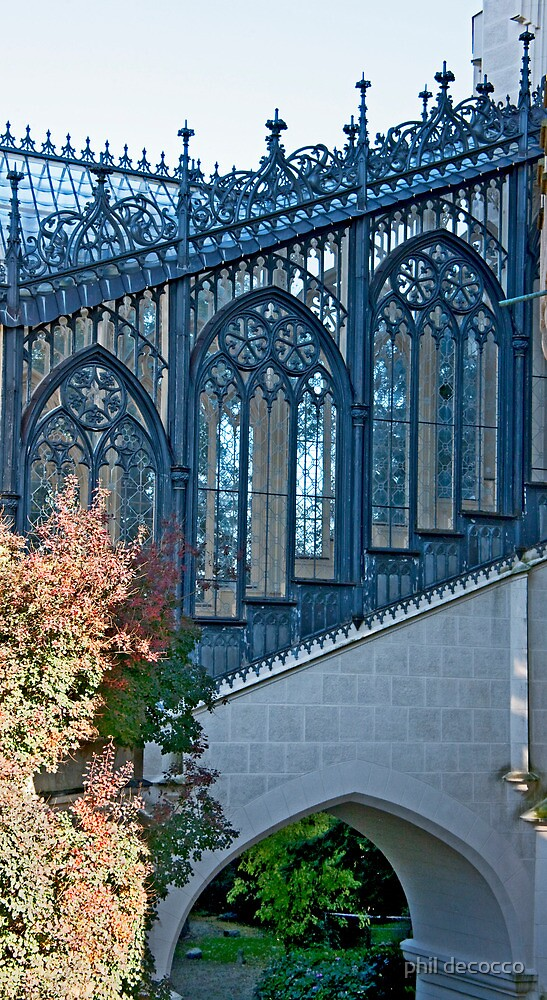 Gothic Windows by phil decocco