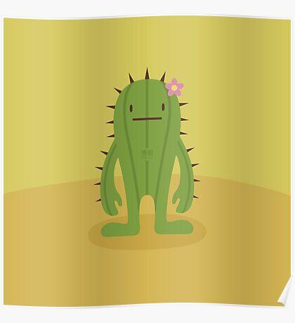 CactusDeki Poster