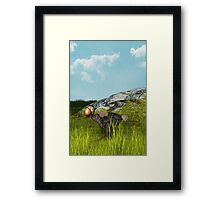 The Happy Dodo Framed Print