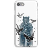 Wolf And Ravens iPhone Case/Skin