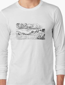 China Beach View Long Sleeve T-Shirt