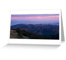 San Francisco from Mount Tam Greeting Card