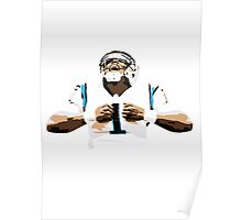 Cam Newton - Carolina Panthers Poster