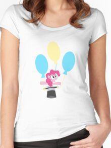 Surprise Balloon!  Women's Fitted Scoop T-Shirt