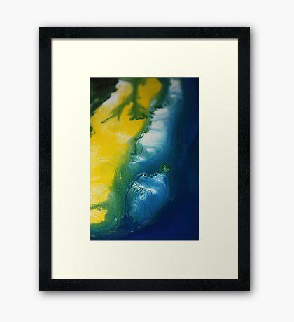 Island Sand Dune Framed Print