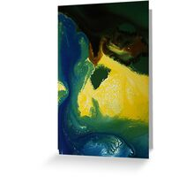 Reflecting Sand Dune Greeting Card