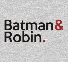 Jetset Batman and Robin by SwordStruck