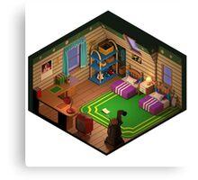 3D Marche's Room - Final Fantasy Tactics Advance (No Background) Canvas Print