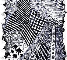 Zen-tangle #1 by brickinthewall