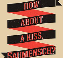 The Book Thief - How about a kiss, Saumensch? by Jodie636