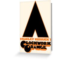 A Clockwork Orange II Greeting Card