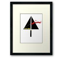 the dark side of kill bill Framed Print