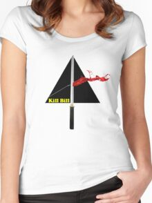 the dark side of kill bill Women's Fitted Scoop T-Shirt