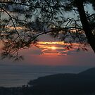 January Sunset, Akyaka by taiche