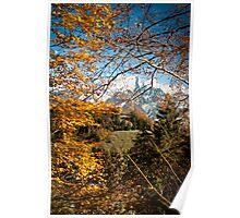Swiss Autumn Afternoon Poster