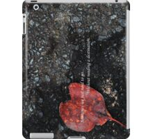 Heart set on travel iPad Case/Skin