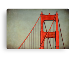 """Golden Gate""  Canvas Print"