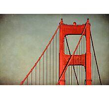 """Golden Gate""  Photographic Print"