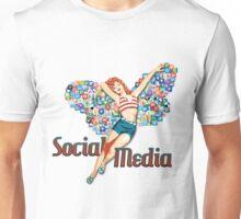 Social Media Fairy Unisex T-Shirt