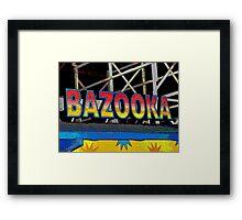 Bazooka Framed Print