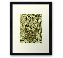 Portrait of a Redcoat. Framed Print