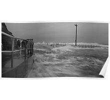 Narrabeen pool flood Poster