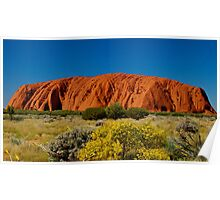 AYRES ROCK, Australia Poster