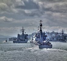 70th Anniversary of New Zealand's Navy........ by Roy  Massicks
