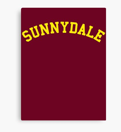 Sunnydale High School - Buffy Canvas Print