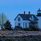 Prospect Harbor Lighthouse by Mike Griffiths