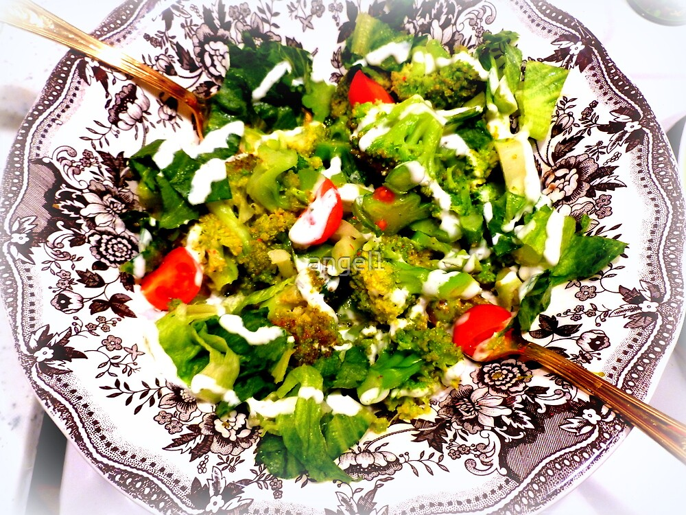 Warm Broccoli Salad by ©The Creative  Minds