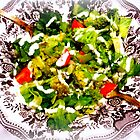 Warm Broccoli Salad by The Creative Minds