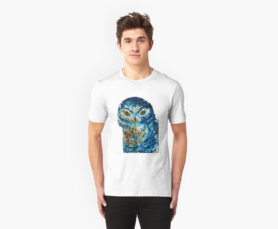 owl T by Wieslaw Jan Syposz