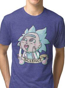 Tiny Rick Tri-blend T-Shirt