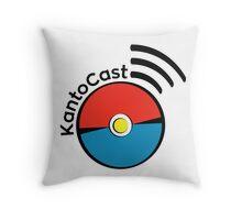 Kanto Cast Pokeball Throw Pillow