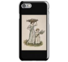 Vintage Collecting BlossomsiPhone Case iPhone Case/Skin
