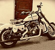 Vintage Harley by Vinchenso