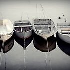boats in Concarneau   Brittany by Elie Le Goc