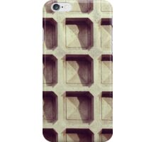 Conrete Grid iPhone Case/Skin
