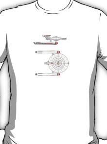 Star Trek OS Fox Class T-Shirt
