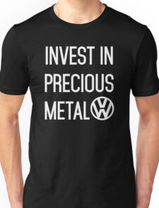 Invest In Precious Metal VW :) Unisex T-Shirt