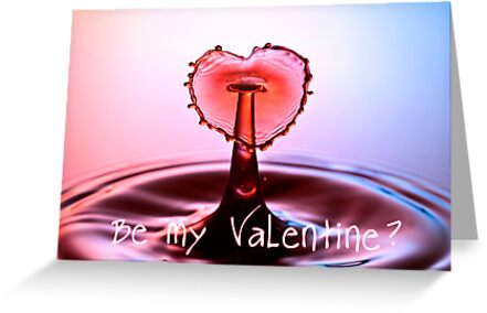 Be my Valentine - Card by BlueShift