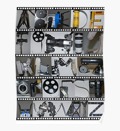 Photography/Film Alphabet Poster
