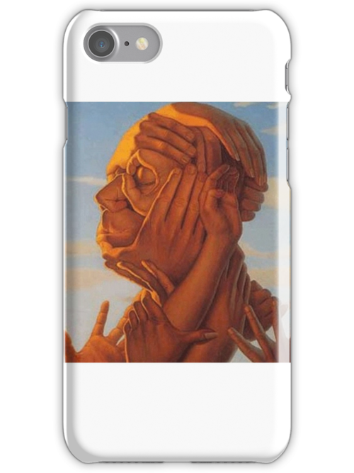 Illusion Iphone Case  by SwallowStudios