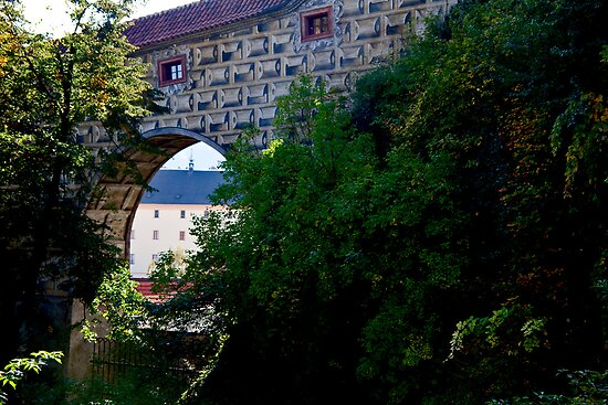 Cesky Krumlov Arch by phil decocco