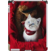 Christmas Kitty iPad Case/Skin