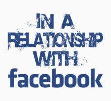 In a relationship with facebook (blue) by alainraz