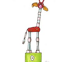 Giraffe1 by russellnewton