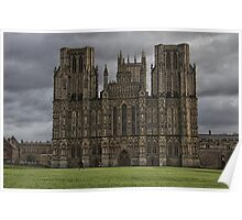 wells cathedral Poster