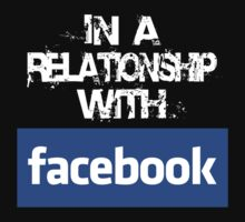 In a relationship with facebook (logo) by alainraz